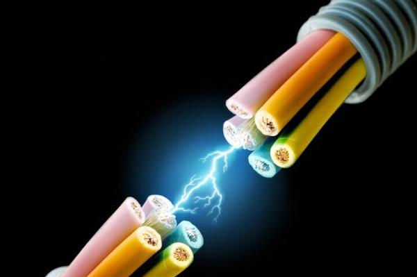 电线效果图