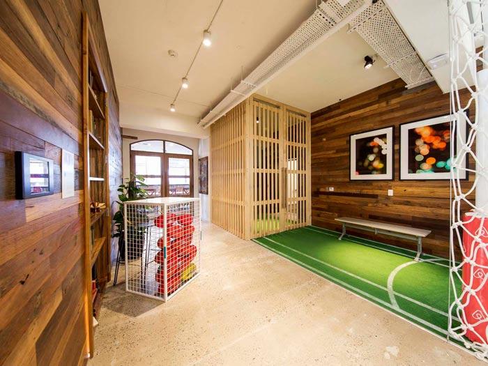 绿色能源公司办公室装修设计案例