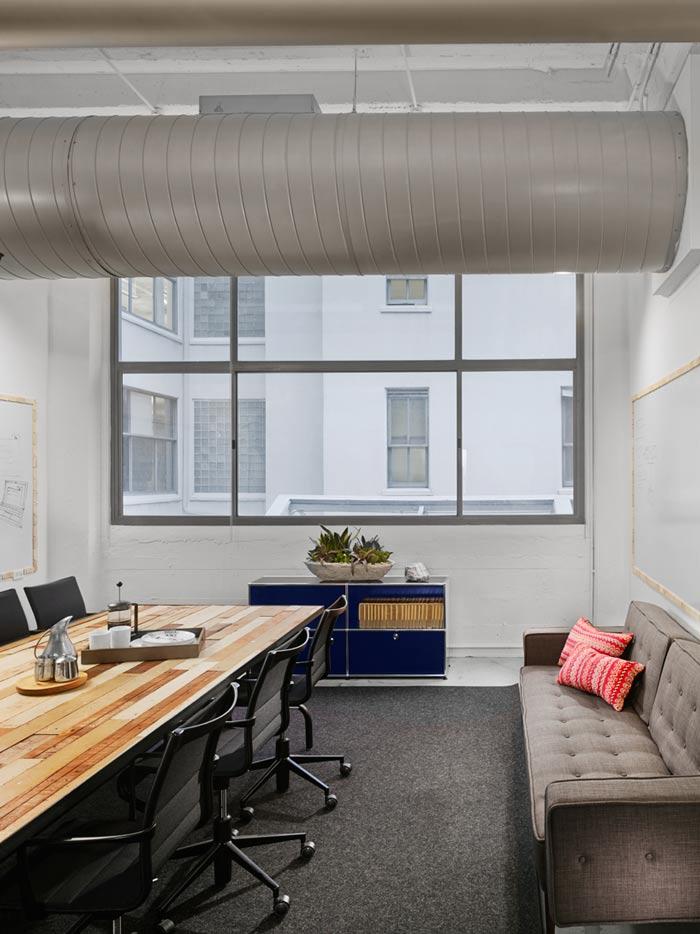 时尚办公室会议室修设计效果图
