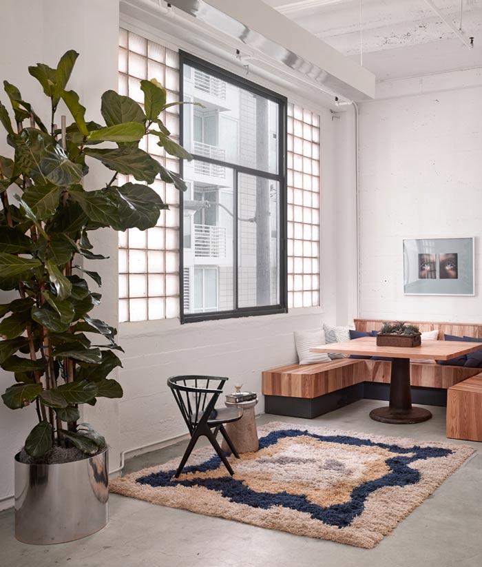 时尚办公室休息区修设计效果图