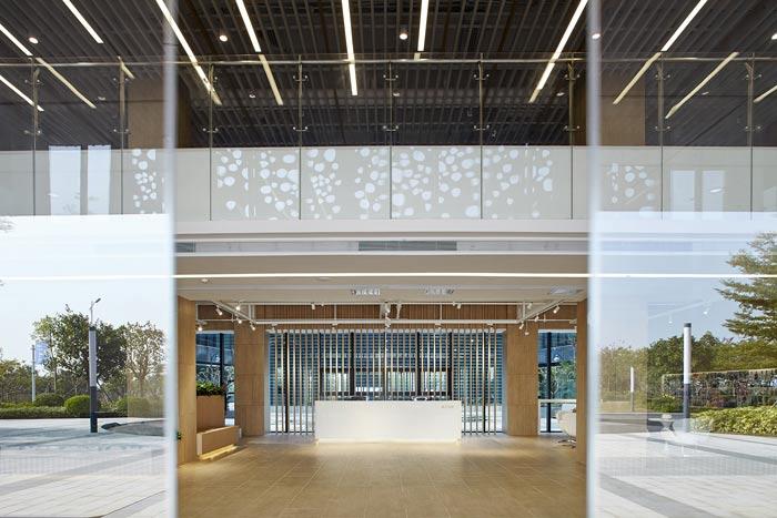 集团公司办公楼大门区装修设计效果图