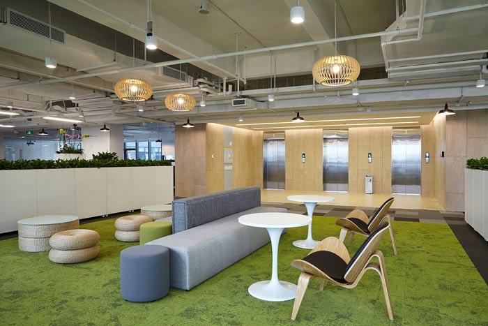 集团公司办公楼二楼接待装修设计效果图