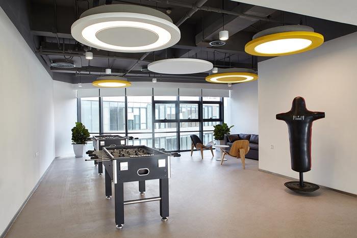 集团公司办公楼休息区装修设计效果图