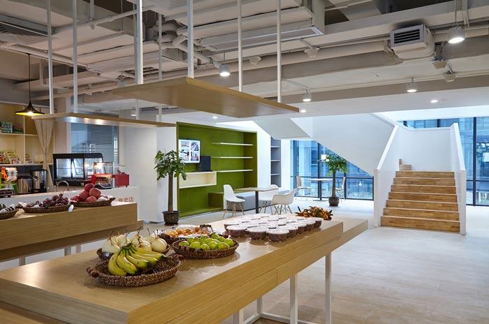 集团公司办公楼茶水间装修设计效果图