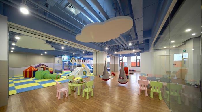 企业总部办公室婴幼区装修设计效果图