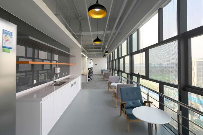 互联网公司办公楼茶水间装修设计效果图
