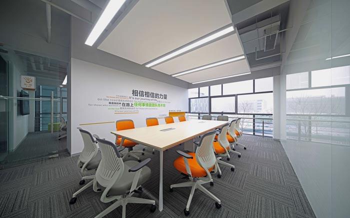 互联网公司办公楼会议室装修设计效果图