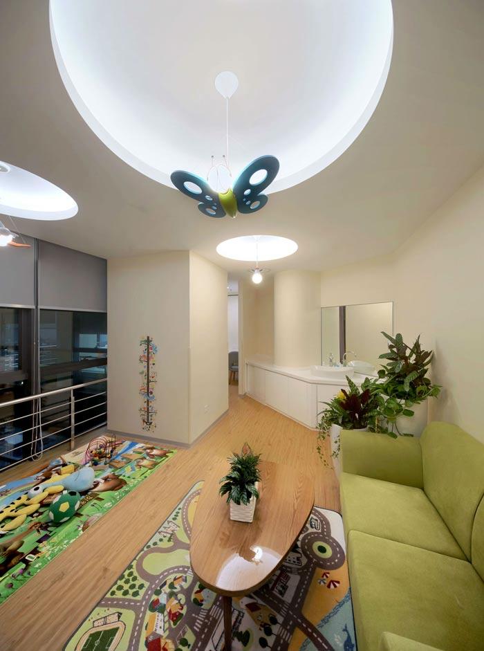 互联网公司办公楼儿童乐园装修设计效果图