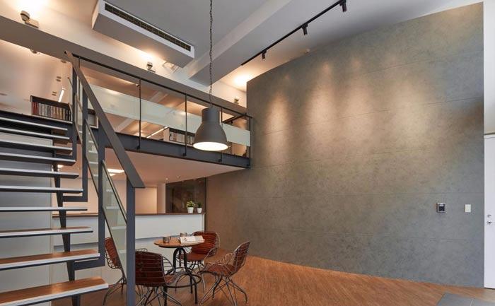 办公室改造接待区装修设计案例效果图