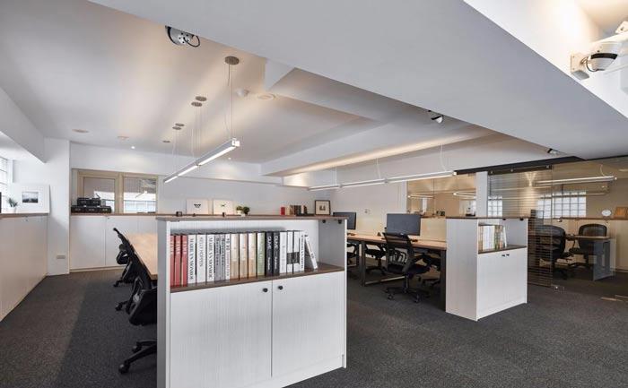 办公室改造办公区装修设计案例效果图