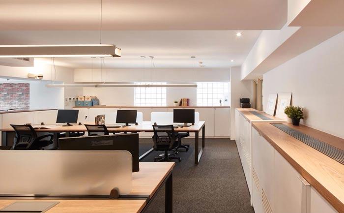 办公室改造储藏柜装修设计案例效果图