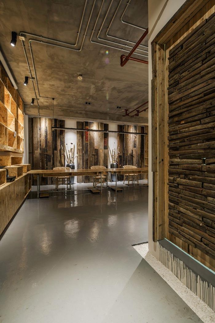 设计顾问公司办公室走廊装修设计效果图