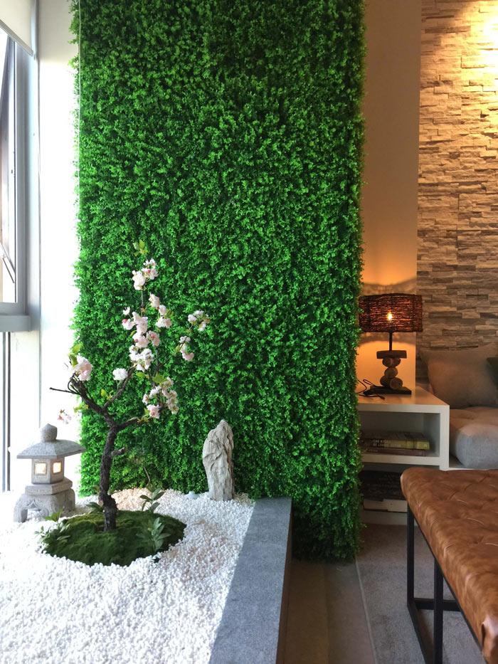 loft办公室盆栽装修设计案例