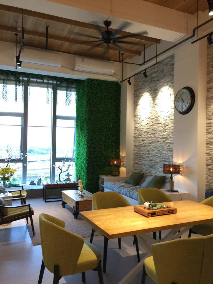 loft办公室休息区装修设计案例