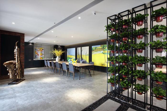 设计公司办公室会议室装修设计效果图