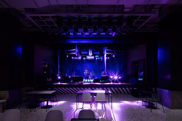 视觉传媒公司办公室演唱会装修设计效果图