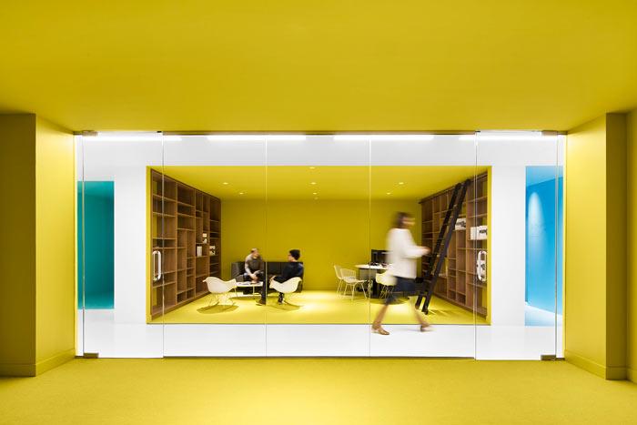 娱乐公司办公室装修设计效果图