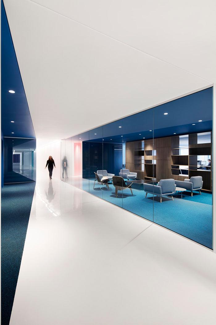 娱乐公司办公室进门区装修设计效果图