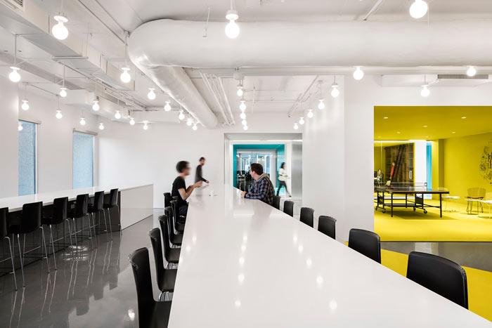 娱乐公司办公室交流区装修设计效果图