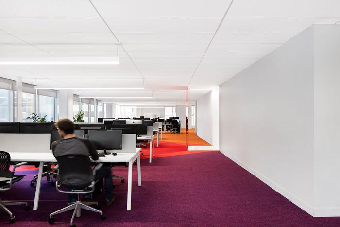 娱乐公司办公室办公区装修设计效果图