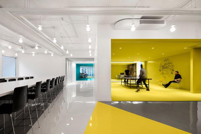 娱乐公司办公室娱乐区装修设计效果图