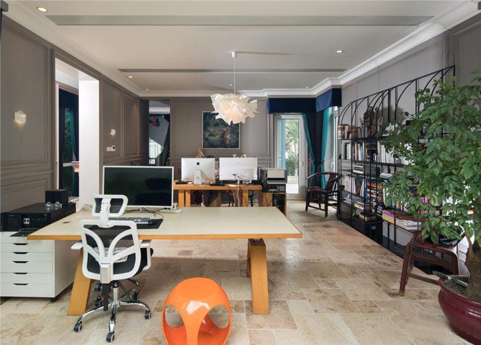 禅意办公室设计方案