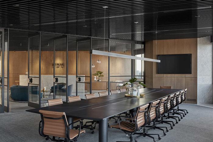 食品公司办公室接待区装修设计效果图
