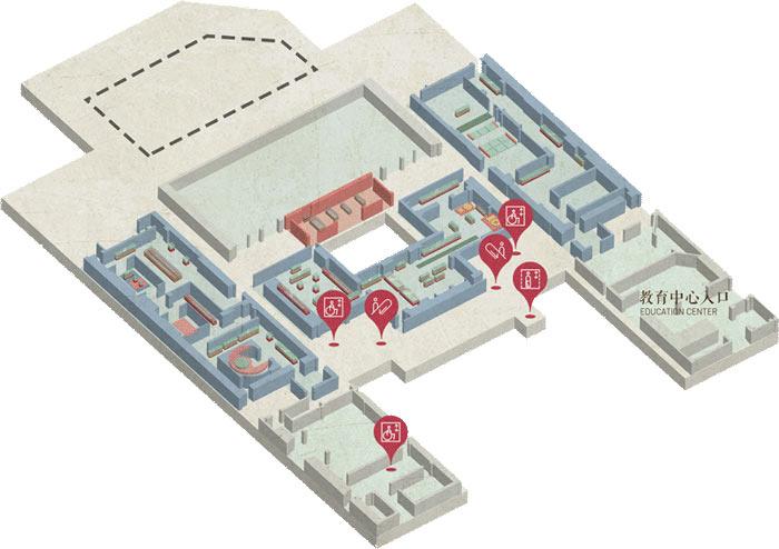 展厅2楼地图