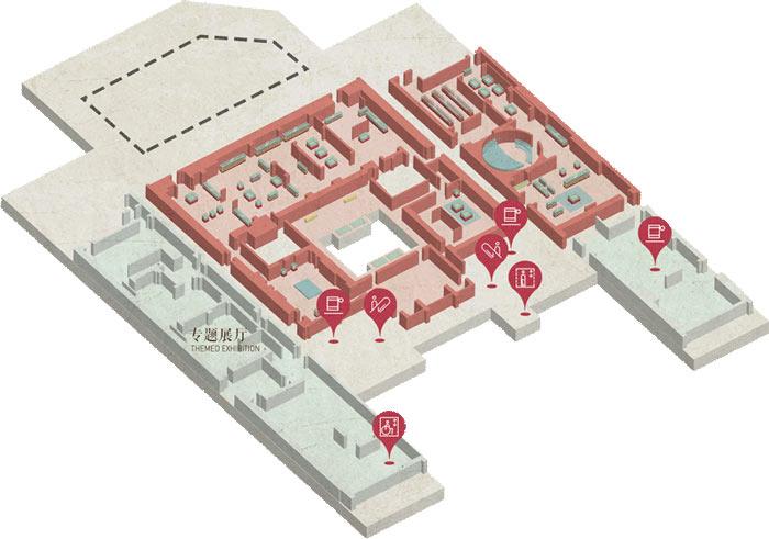 展厅3楼地图