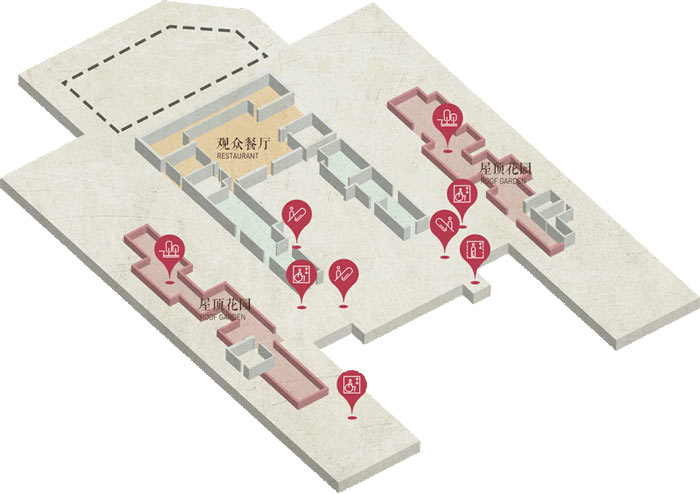 展厅4楼地图