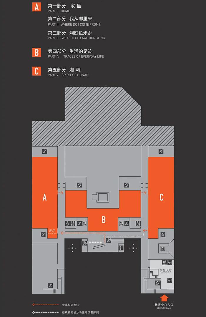 """""""湖南人""""展厅 / 教育中心效果图"""