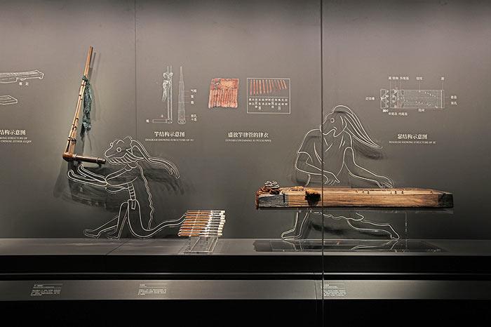 长沙马王堆汉墓陈列展厅效果图