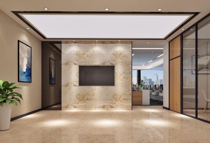风投公司办公室中庭装修设计效果图