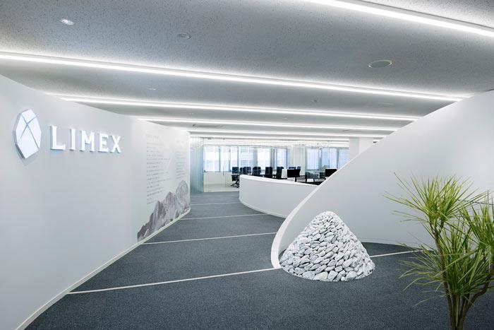 机械制造公司办公室装修设计效果图