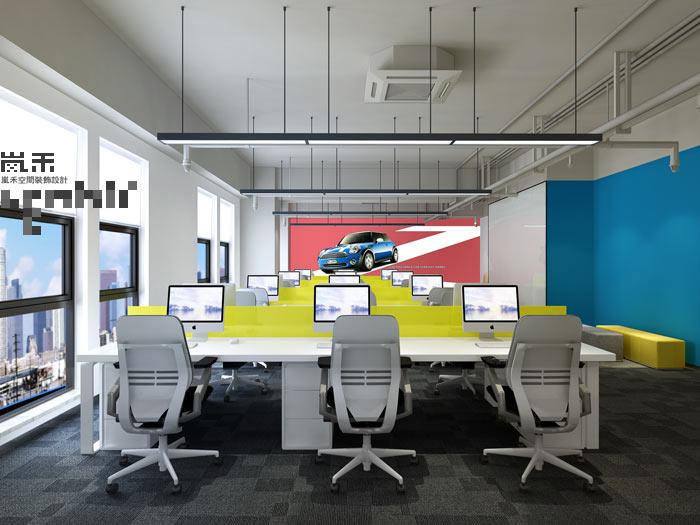 办公室收费设计效果图