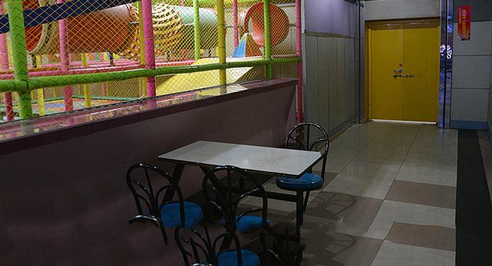 儿童活动场所负1楼现状现场图