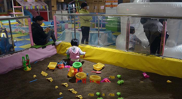 儿童活动场所负一楼现状现场图