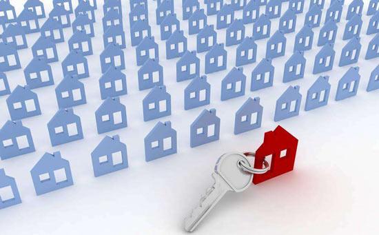 房屋租赁效果图