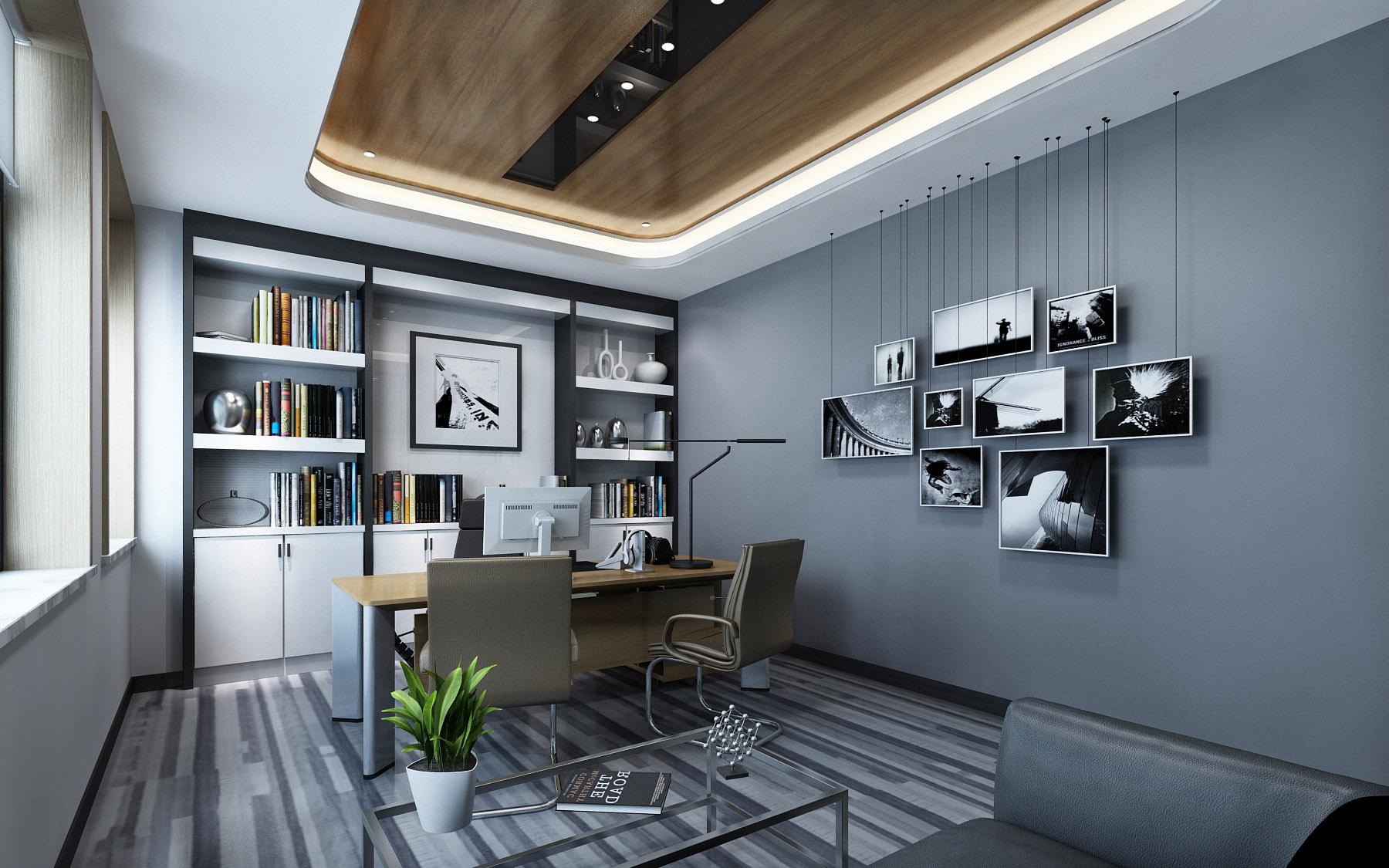 青岛办公室设计之小型办公空间设计赏析